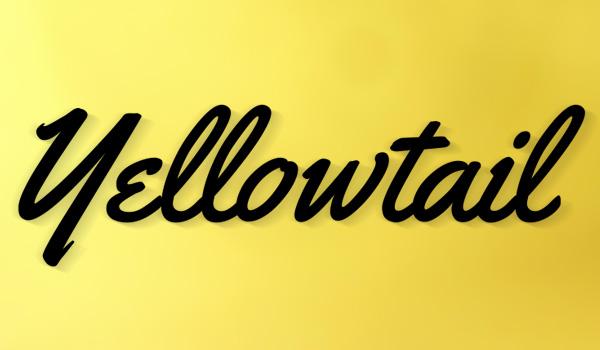 yellowtail_handwritten_font