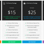 WP Darko pricing table extension classic