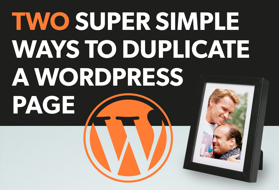 how to create a duplicate page in wordpress