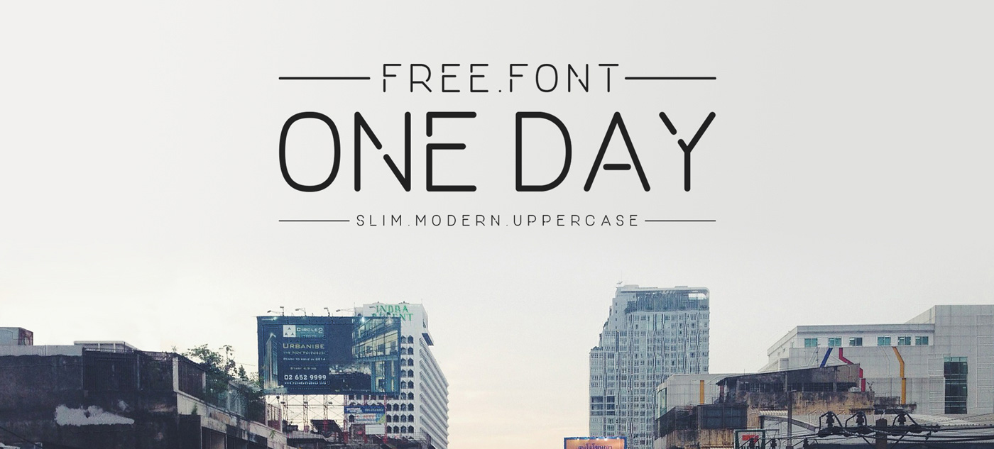 one-day-font