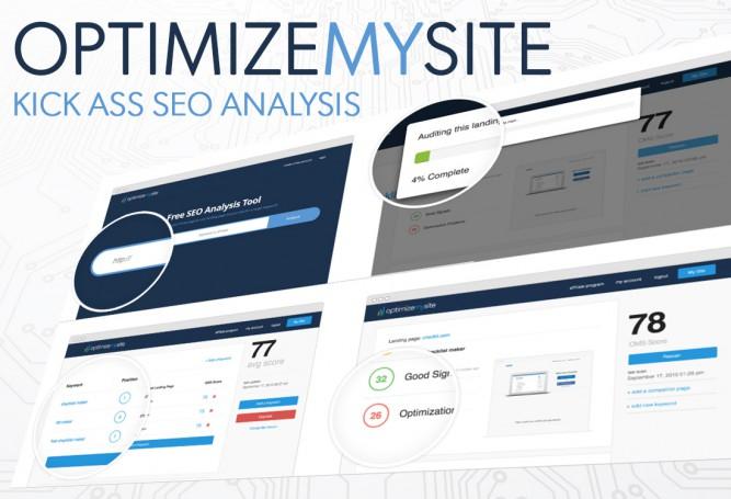 OptimizeMySite SEO Analysis Tool