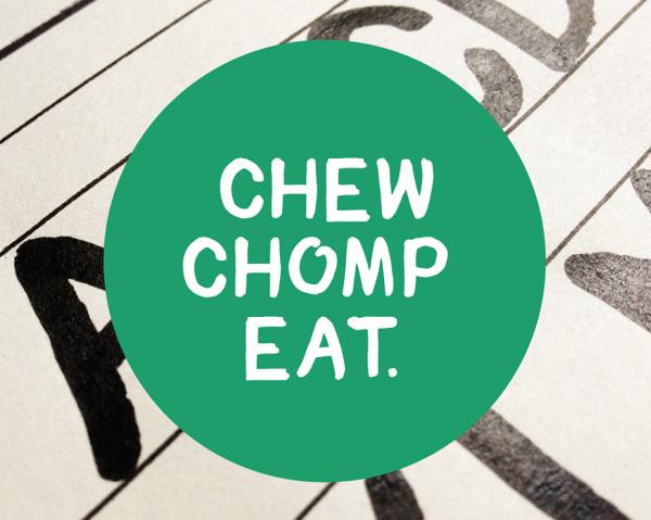chomp_handwritten_font
