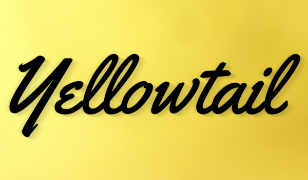 yellowtail_handwritten_font