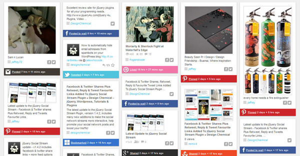 WordPress_Social_Stream