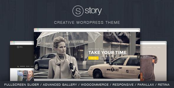 Story Creative WordPress Theme
