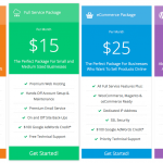 WP Darko pricing table extension in full color