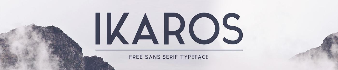 ikaros-font