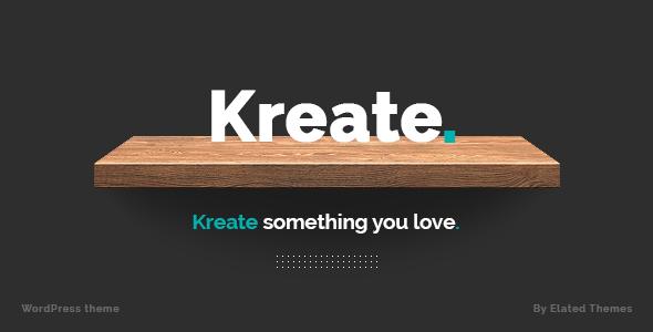 Kreate – Expert Theme for Creative Business - ThemeForest