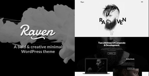 Raven - Minimal WordPress Theme - ThemeForest