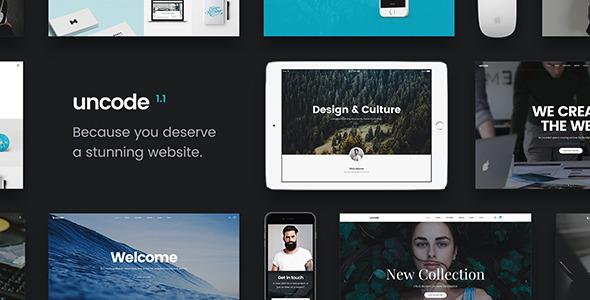 Uncode - Creative Multiuse WordPress Theme - ThemeForest