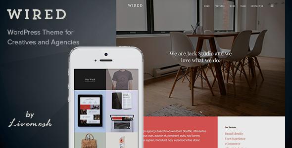 Wired - Multi-Purpose Portfolio WordPress Theme - ThemeForest